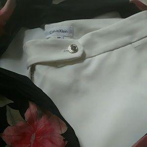 Killer White Calvin Klein Trousers